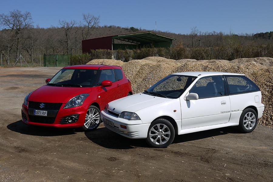 El Suzuki Swift es uno de los modelos de más éxito de la marca japonesa.
