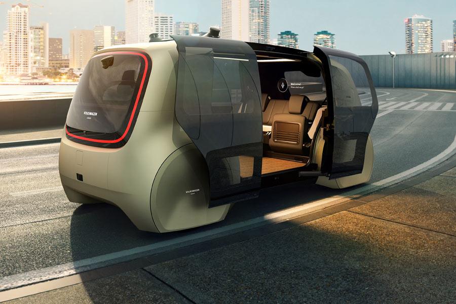 El Volkswagen Sedric es un prototipo ejemplo de Nivel 5, donde los ocupantes no tienen que estar pendientes de nada relacionado con la conducción.