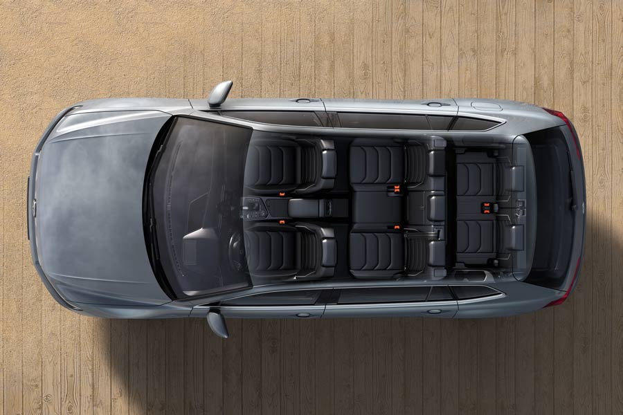 El nuevo Volkswagen Tiguan Allspace puede contar con hasta siete plazas.