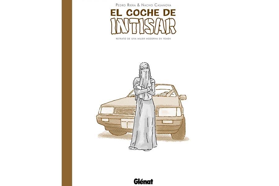 El coche de Intisar, Nacho Casanova y Pedro Riera. 19 euros