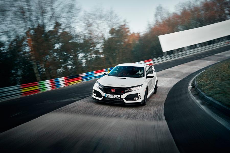 El Honda Civic Type R quiere ser el rey de los circuitos europeos