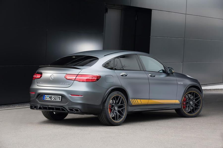 Esta es la versión 'Edition 1' que Mercedes sacará de lanzamiento en el coupé.
