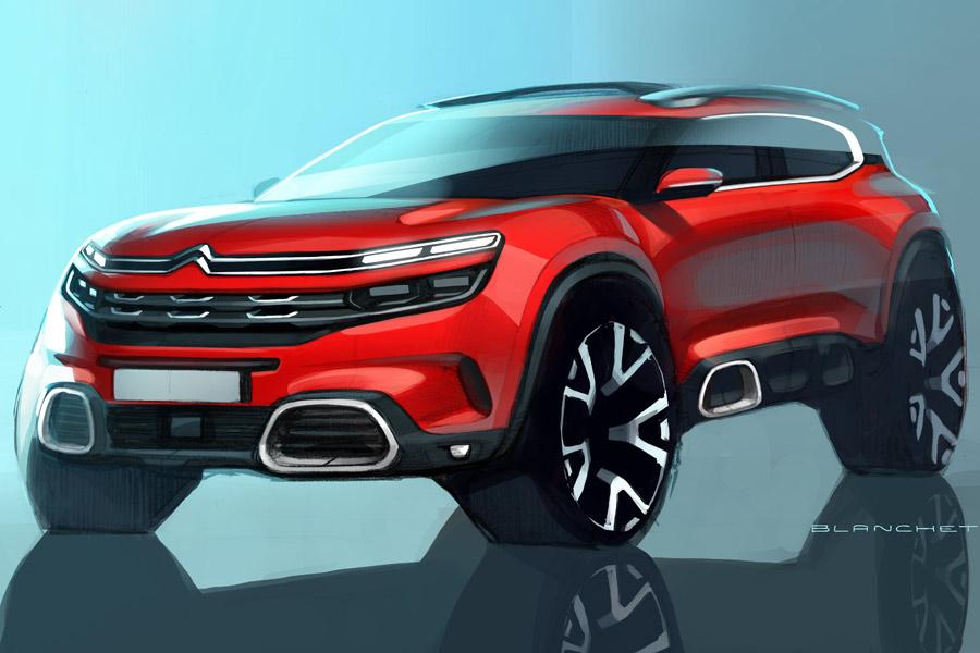 C5 Aircross: Citroën completa su gama SUV en Shanghái
