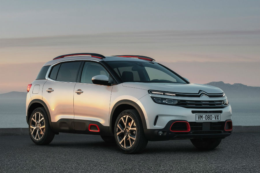 Citroën C5 Aircross, así es el nuevo SUV compacto de la marca francesa