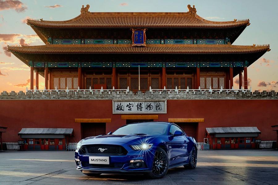 El Mustang ha logrado conquistar también el mercado chino.