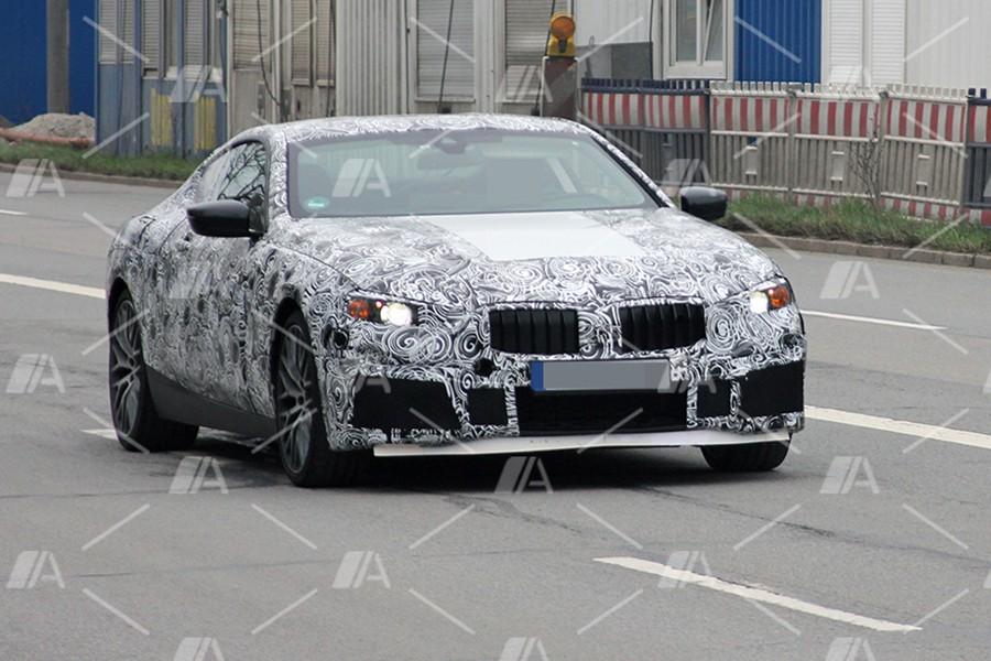 Fotos espía de los nuevos BMW Serie 8