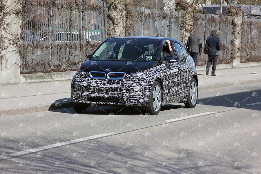 Fotos espía del nuevo BMW i3 2018