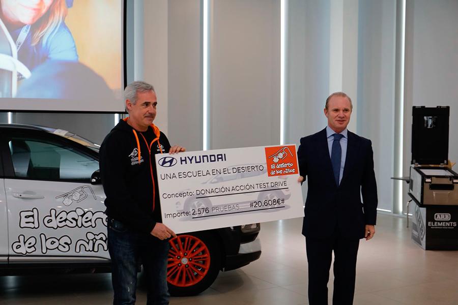 Hyundai, un año más, solidario en el Desierto de los Niños