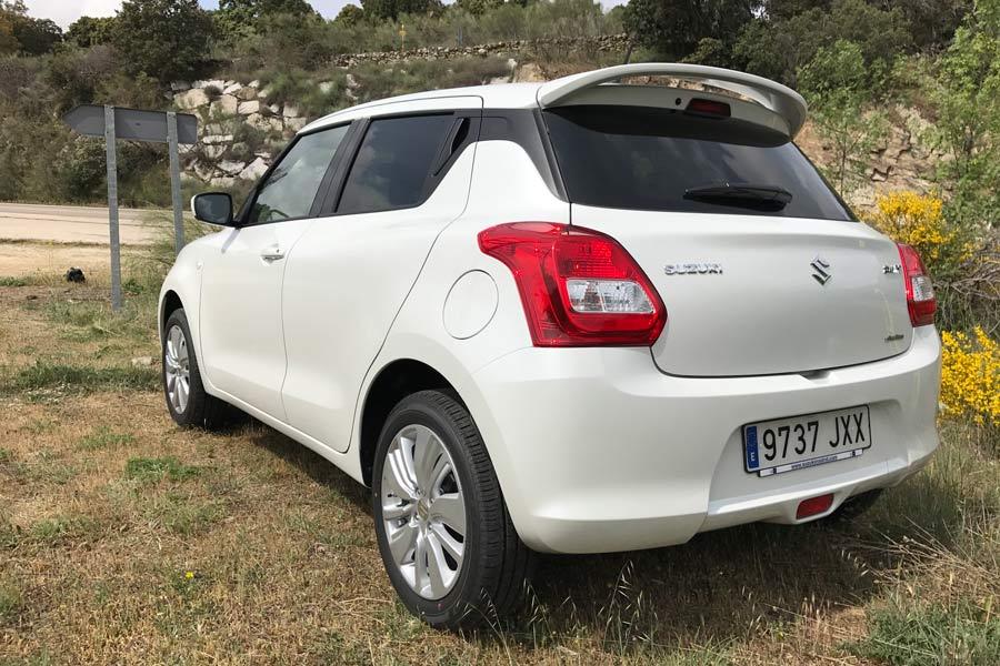 La versión que hemos probado es la 1.2 Dualjet 90 CV AllGrip (4WD).