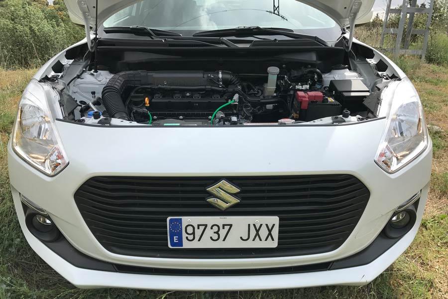Motor 1.2 Dualjet gasolina de 90 CV.