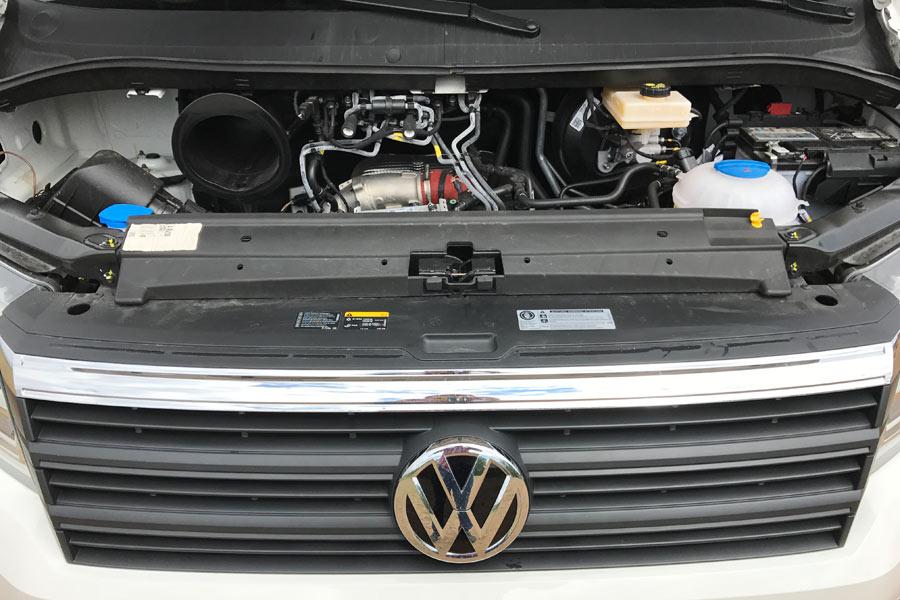 Motor 2.0 177 CV del nuevo Crafter.