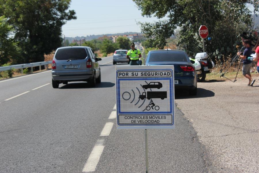 Más controles de velocidad en las carreteras españolas