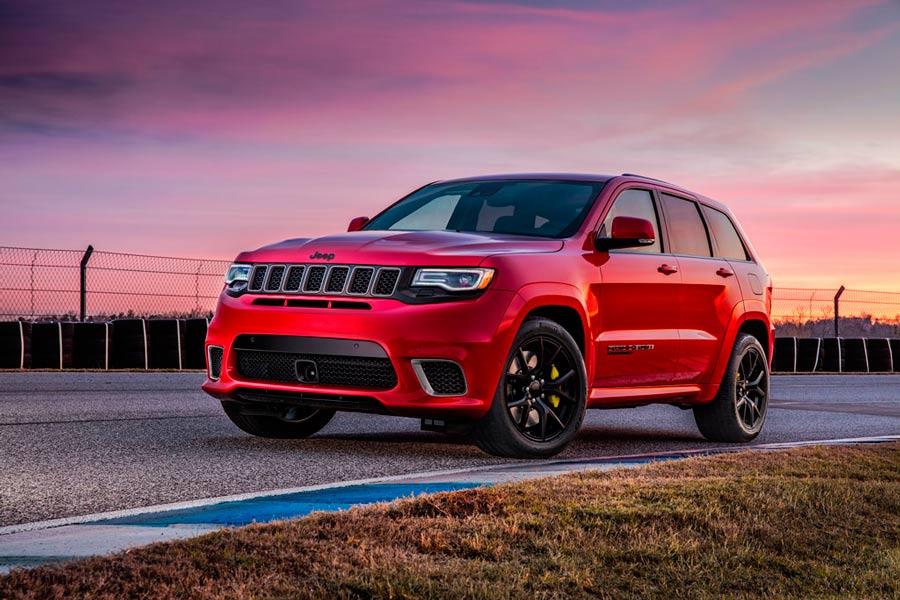 Jeep Grand Cherokee Trackhawk, el SUV más potente del mundo