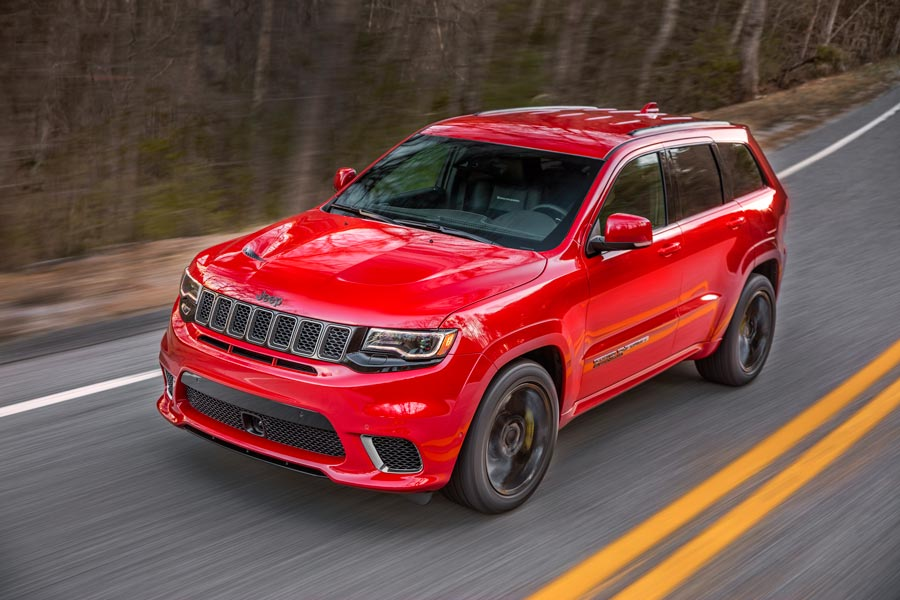 Problemas con los Jeep Grand Cherokee Trackhawk
