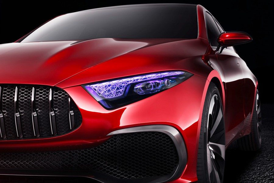 Nuevo Mercedes Clase A Sedán Concept en Shanghai 2017