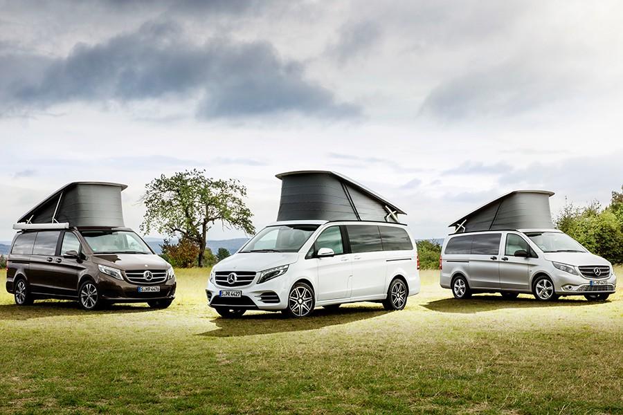 Nuevo Mercedes Marco Polo Horizon 2017 para los más audaces