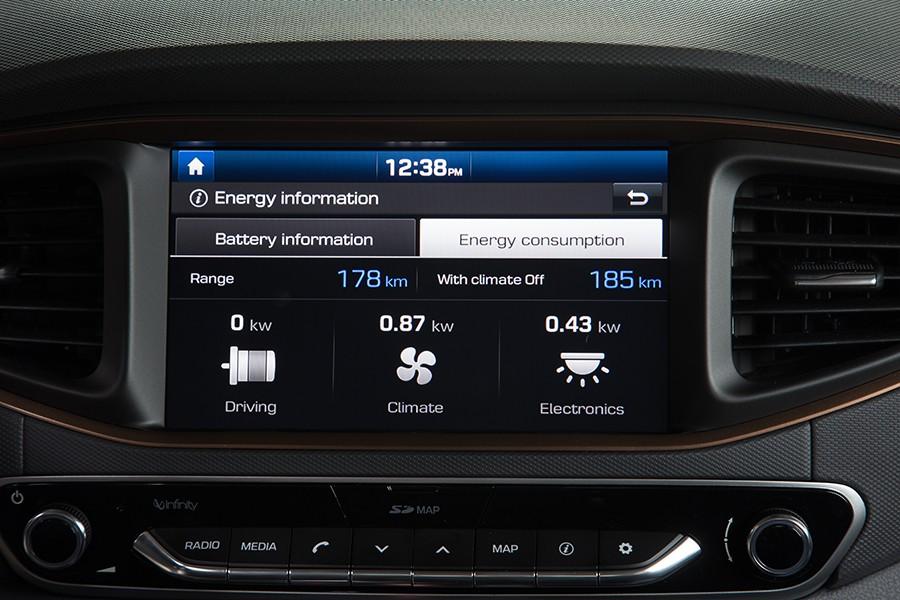 La autonomía real ronda los 200 km.