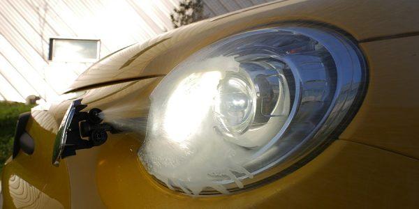 Cómo son los faros bixenón, la luz de la carretera