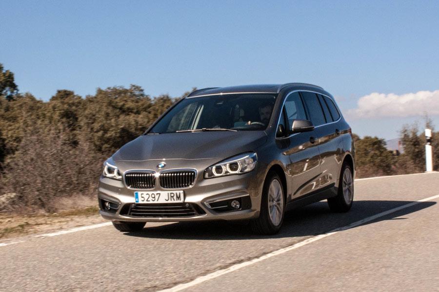 El cambio automático de BMW es magnífico por suavidad y rapidez.