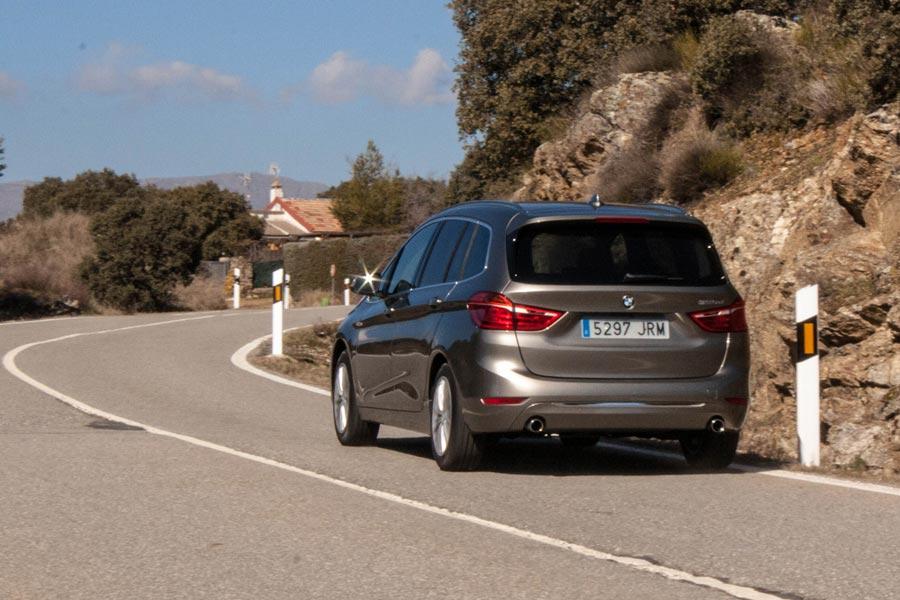 El BMW Serie 2 Gran Tourer es el modelo más dinámico de la categoría.