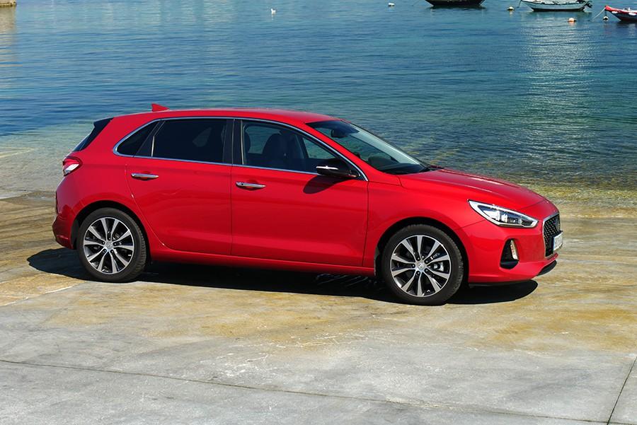 El Hyundai i30 de tercera generación ha ganado en elegancia.