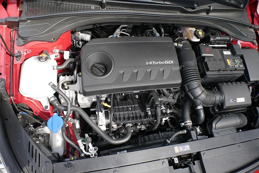 El motor 1.4 turbo de 140 CV tiene una respuesta muy agradable.