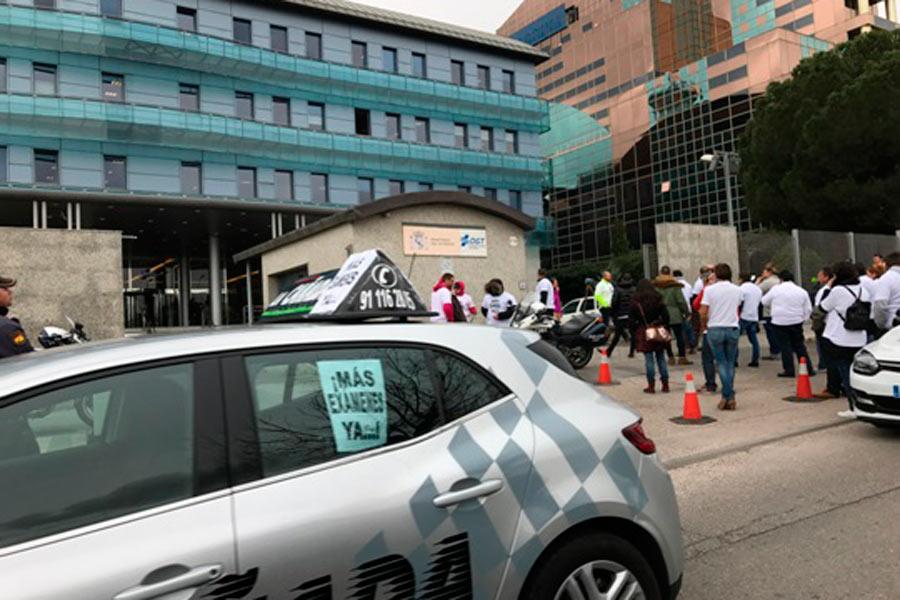 ¿Volverán los examinadores de tráfico a la huelga?