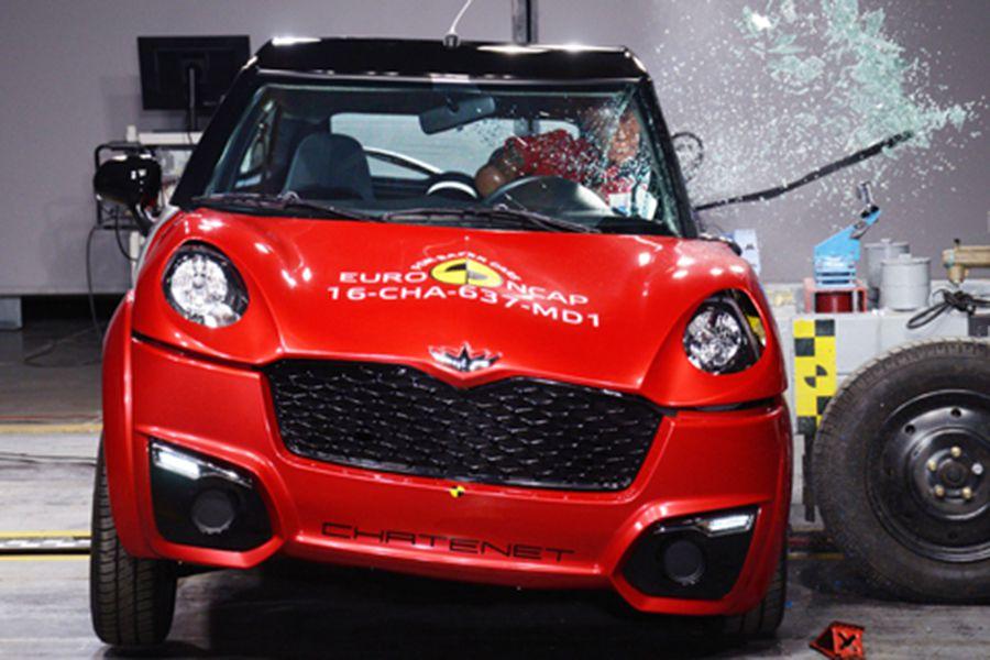 Los resultados en los ensayos EuroNCAP de los coches sin carnet son decepcionantes.
