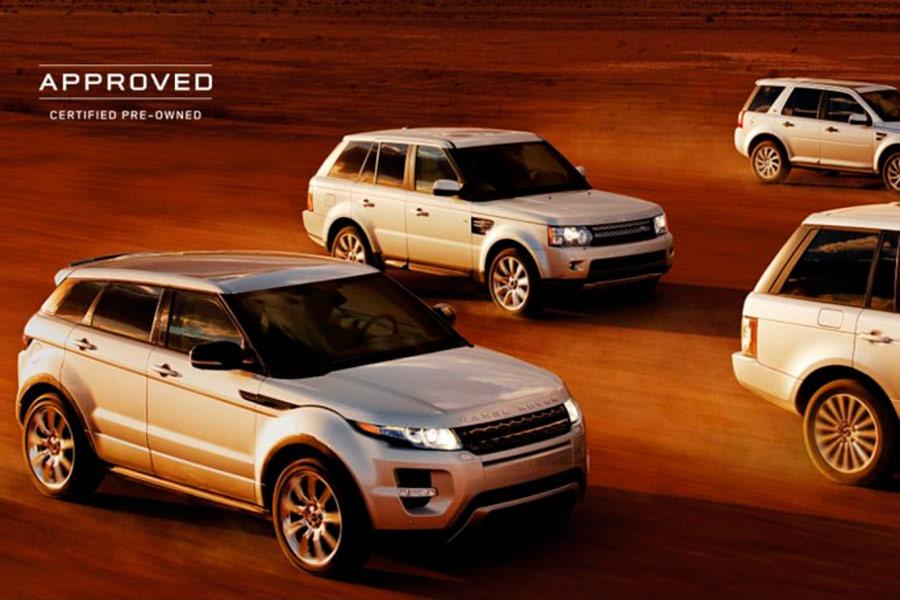 Approved es el programa de certificación de vehículos usados del Grupo Jaguar-Land Rover para la venta de sus modelos de ocasión.