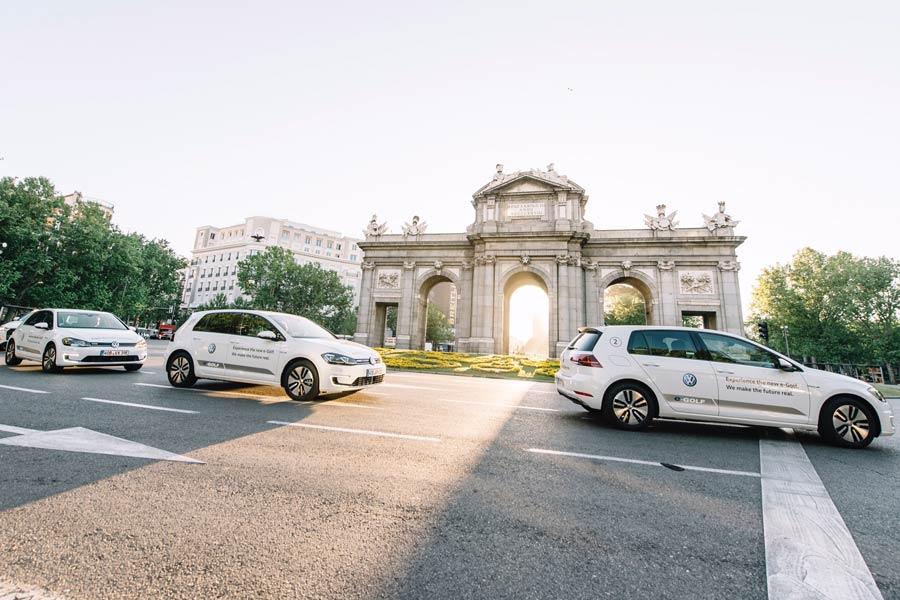 El nuevo Volkswagen e-Golf llega a Madrid