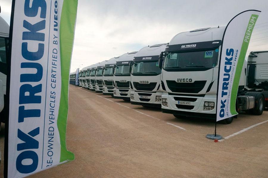 OK Trucks es el programa de certificación de vehículos usados de Iveco para la venta de sus modelos de ocasión.