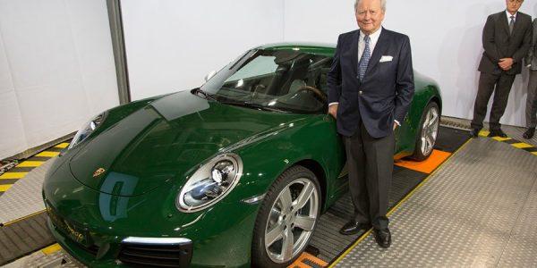 Así es la unidad 1.000.000 del Porsche 911
