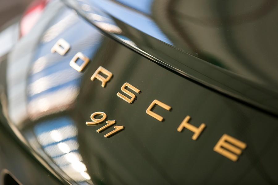 Las letras en dorado, como en el modelo de 1964.