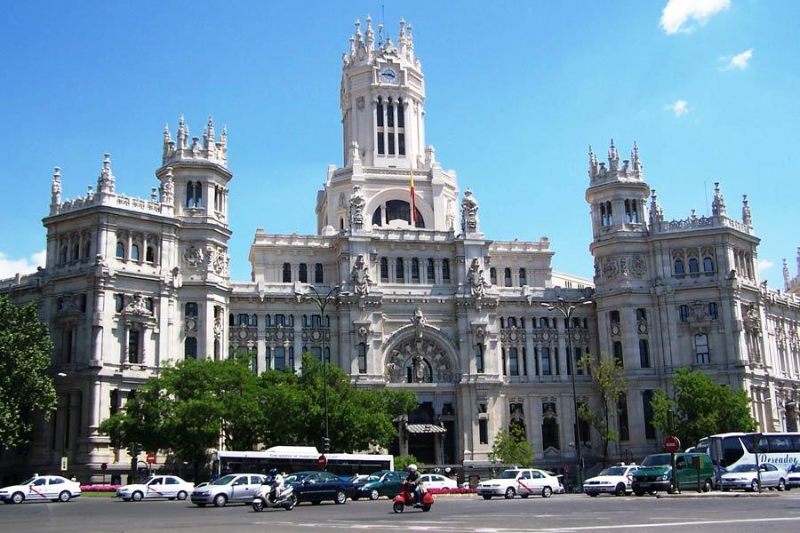Tráfico monitorizado 24 horas en Madrid