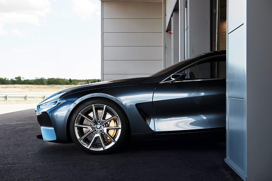 BMW Serie 8 Concept, desvelado en el Concorso d'Eleganza Villa d'Este 2017