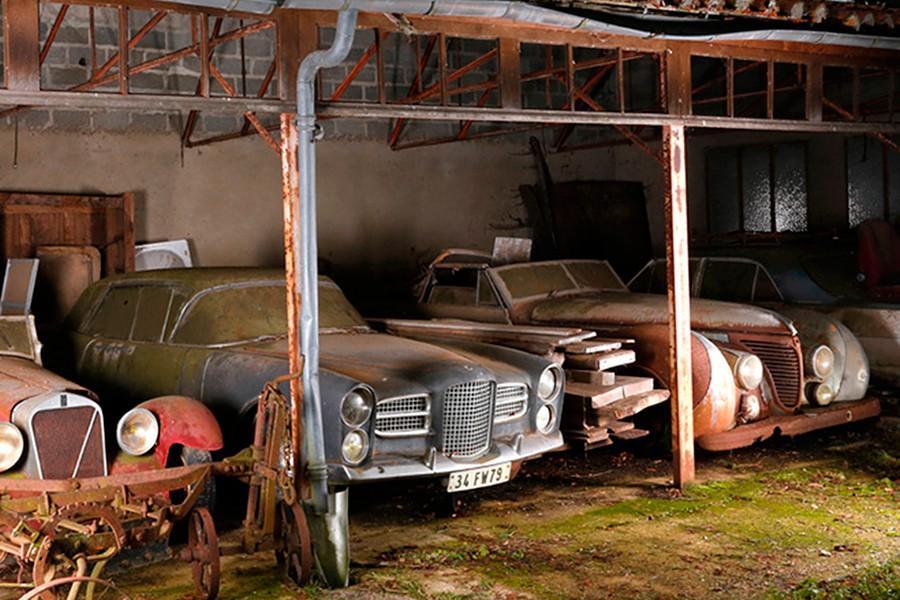 ¿Sabes qué es un 'barn find'? Encuéntralo en Catawiki
