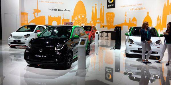 Smart y su movilidad eléctrica, presentes en el Automobile Barcelona
