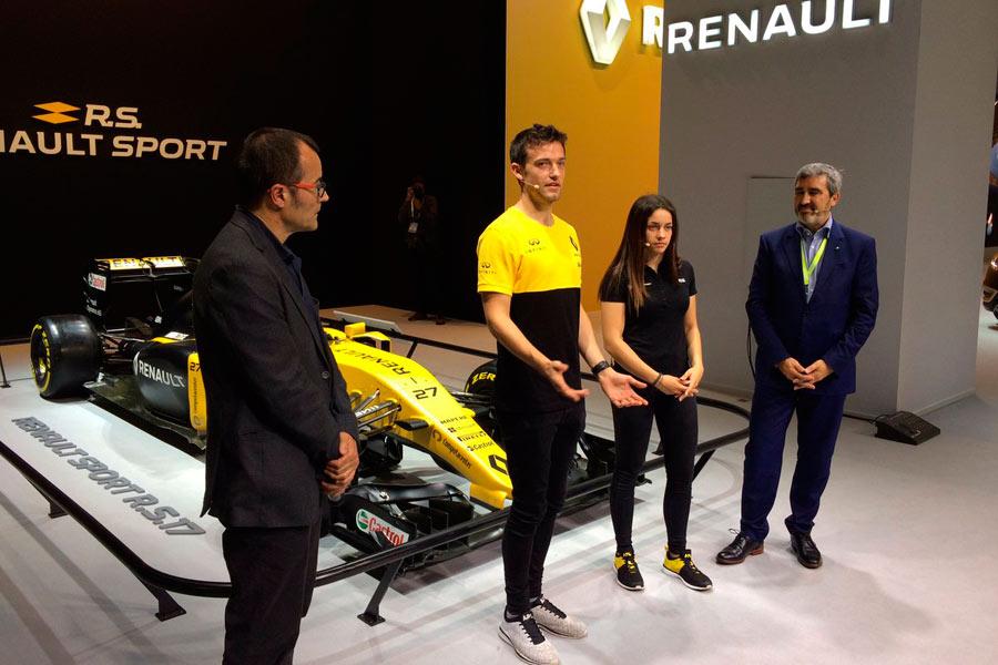 Renault Sport en Barcelona: Jolyon Palmer.