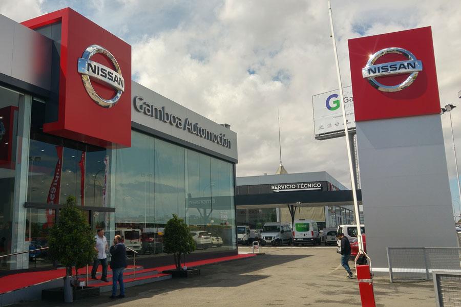 Nissan crece por tercer año consecutivo en el mercado español