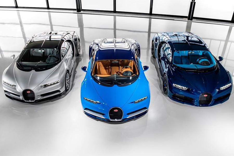 El Bugatti Chiron es el coche de calle más rápido del mundo con 498 km/h.
