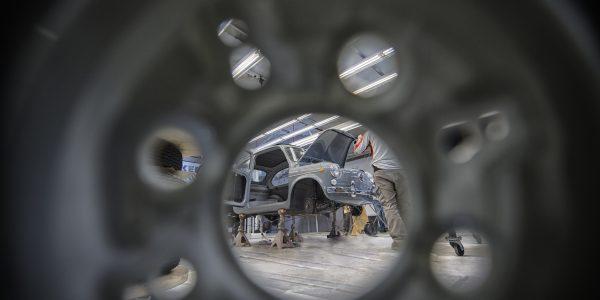 Así se restauró el Seat 600 del Automobile Barcelona