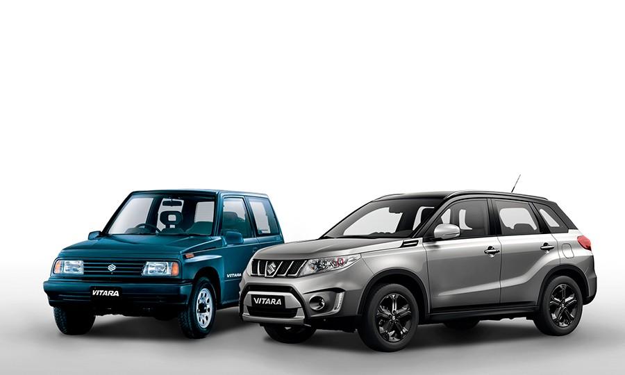 El Suzuki Vitara cumple 30 años en 2017