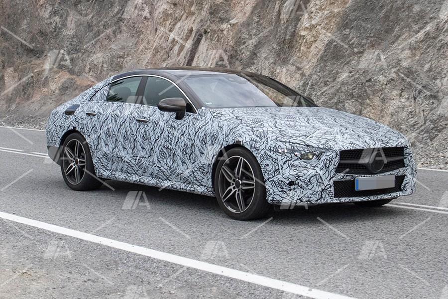 Fotos espía del nuevo Mercedes CLS 2018
