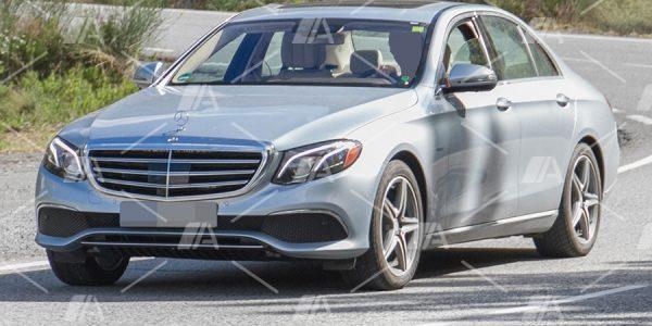 Fotos espía del Mercedes E 350e con Kers
