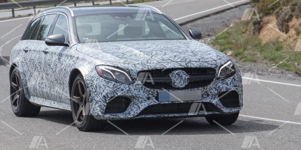 Fotos espía del Mercedes E 63 R AMG Estate 2018