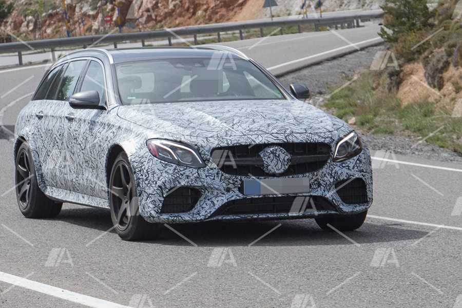 Fotos espía del Mercedes E 63 R AMG Estate 2018