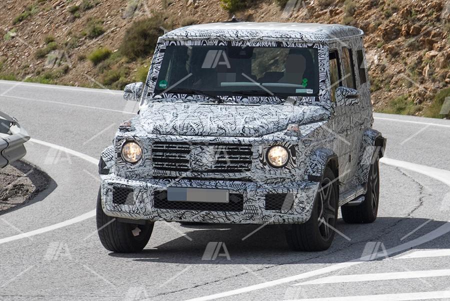 Fotos espía del Mercedes G63 AMG 2018
