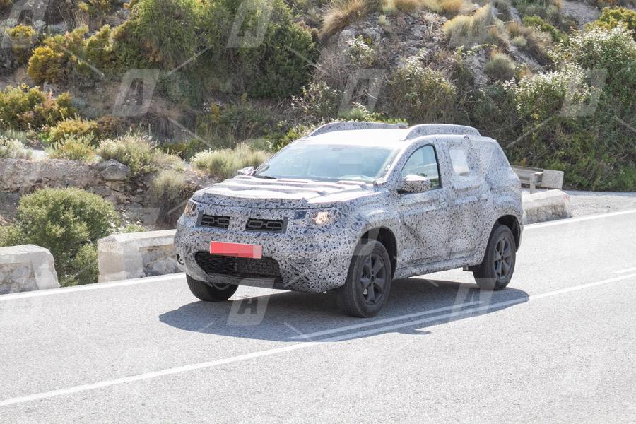 Fotos y vídeo espía del nuevo Dacia Duster 2018