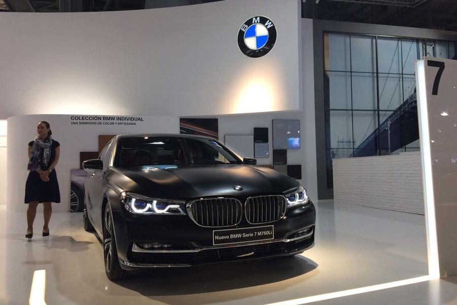 Las últimas novedades de BMW están presentes en el Salón de Barcelona 2017