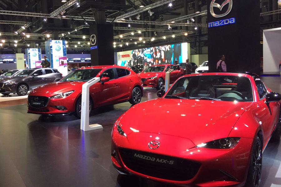 Estas son las novedades de Mazda en el Automobile Barcelona